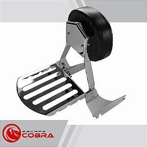 Sissy bar custom shadow 750 de 2006 até 2010 cromado cobra