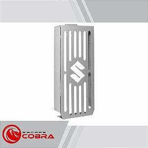 Protetor de radiador boulevard m1500 2010 a 2014 croma cobra