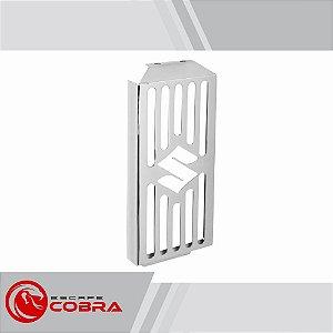 Protetor de radiador boulevard m800 2006 a 2017 croma cobra
