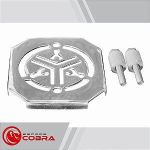 Capa de retificador yamaha custom dragstar 650 cromado cobra