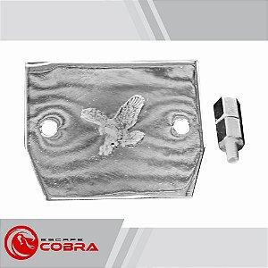 Capa de retificador custom honda shadow 600 cromado cobra