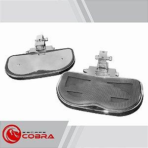 Plataforma garupa kawasaki custom vulcan 900 cromado cobra