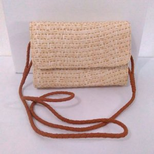 CROSSBODY PALHA NATURAL