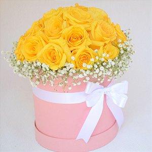 Caixa com rosas - Paris M