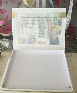 Caixa para convite de  casamento