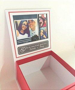 caixa personalizada 365 motivos para amar você