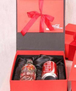 Caixas com berço para Coca-Cola