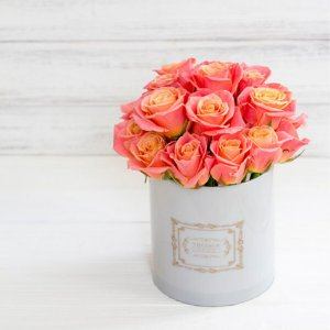 Caixa para flores - Redonda PP
