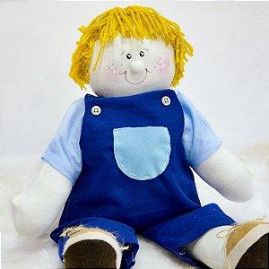 Boneco de pano para bebês - Chico