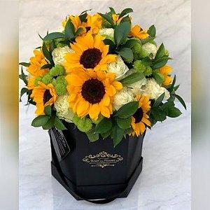 Caixa para flores - Sextavada