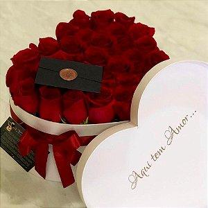 Caixa para flores - Coração