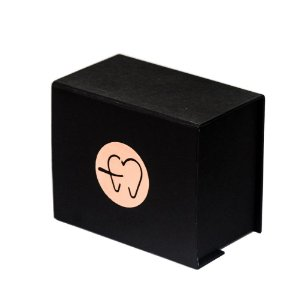 Caixa para entrega de aparelho ortodôntico
