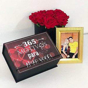 365 Motivos para Te Amar + Porta Retrato