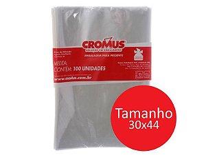 SACO TRANSP 30x44 INCOLOR C/100 CROMUS