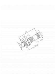 Sensor Indutivo IGQ-4M-12EM-PA/PDL