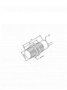 Sensor Indutivo IN-15M-30CA-PR/XL