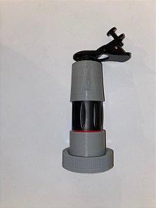 Adaptador de celular para microscópio cirúrgico tipo Leica