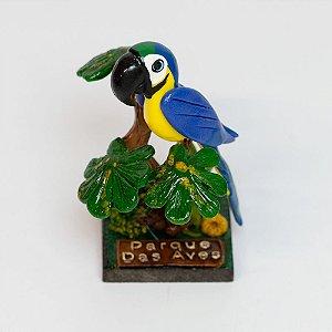 Miniatura arara-canindé