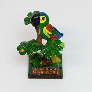 Miniatura papagaio-verdadeiro