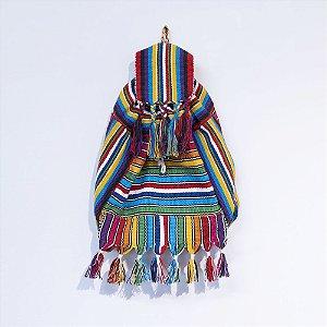 Bolsa indígena - colorida