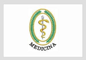 Bordado de Figura - Medicina