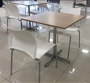 Conjunto com 1 Mesa e 2 Cadeiras - Mesas e Cadeiras para Restaurante REF 7010