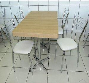 Conjunto com 1 Mesa e 2 Cadeiras - Mesas e Cadeiras para Restaurante REF 7040