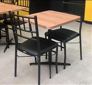 Conjunto com 1 Mesa e 2 Cadeiras - Mesas e Cadeiras para Restaurante REF 7100