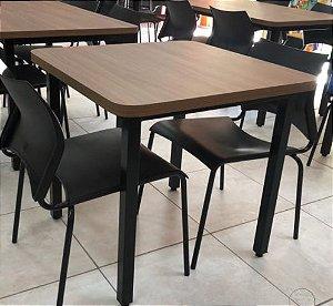 Conjunto com 1 Mesa e 2 Cadeiras - Mesas e Cadeiras para Restaurante REF 7030