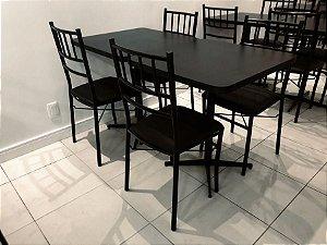 Conjunto com 1 Mesa e 2 Cadeiras - Mesas e Cadeiras para Restaurante REF 7160