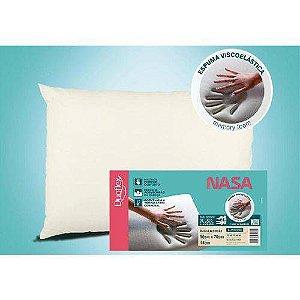 Travesseiro da Nasa - Viscoelástico - 50 x 70 cm - Duoflex