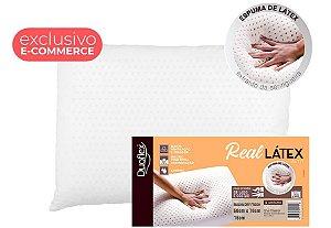 Travesseiro nasa memory form real latex alto 50x70x16