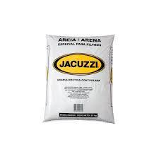 JACUZZI-AREIA PARA FILTRO DE PISCINA 25 KG