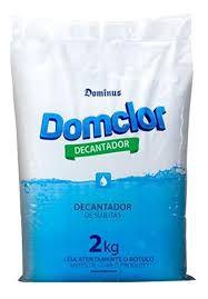 DOMCLOR-DECANTADOR SULFATO DE ALUMÍNIO 2 KG