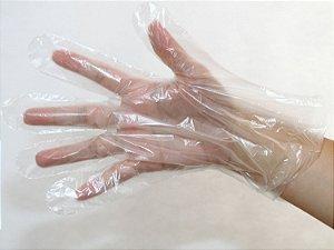 Luva Plástica Descartável