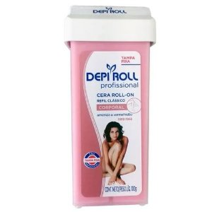 Cera Roll on Rosa 100g - Depi Roll