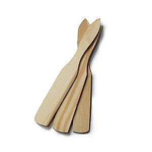 Espátula de Madeira Pequena 14cm x 2cm