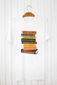 T-shirt Silk Livros