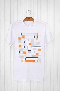 T-shirt Silk Blocks