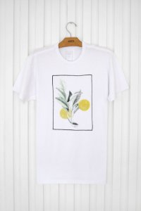 T-shirt Silk Laranja