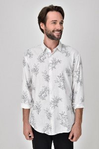 Camisa Foliage