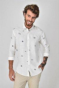 Camisa Linho Concha