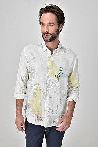 Camisa Linho Paisagem