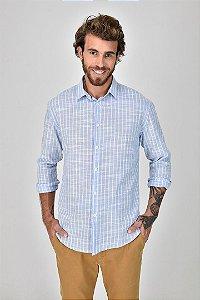 Camisa Listra Azul