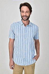 Camisa Manga Curta Céu