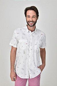 Camisa Manga Curta Feira