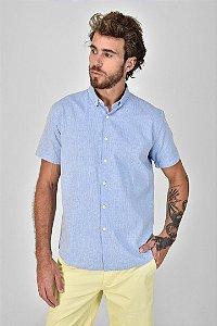 Camisa Manga Curta Petit Bleu