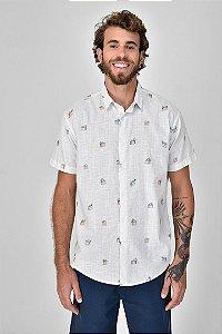 Camisa Manga Curta Sacola