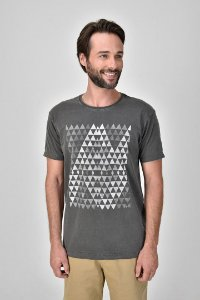 T-shirt Silk Trig