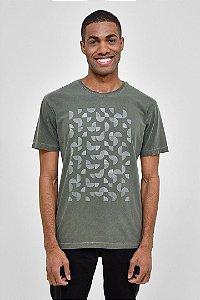T-Shirt Silk Geo Hand 03